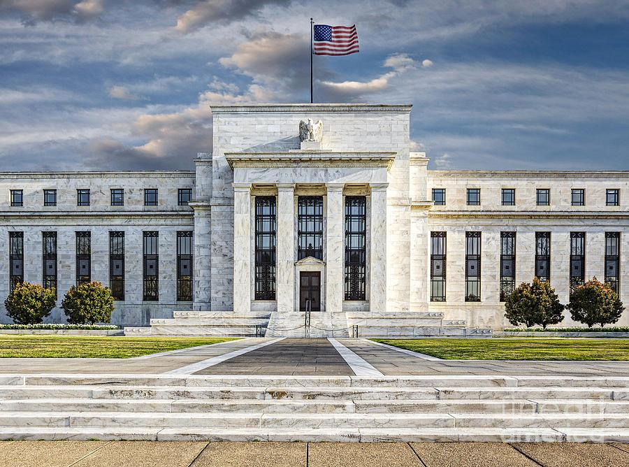 The US Federal Reserve Board Building Photograph by Susan ...