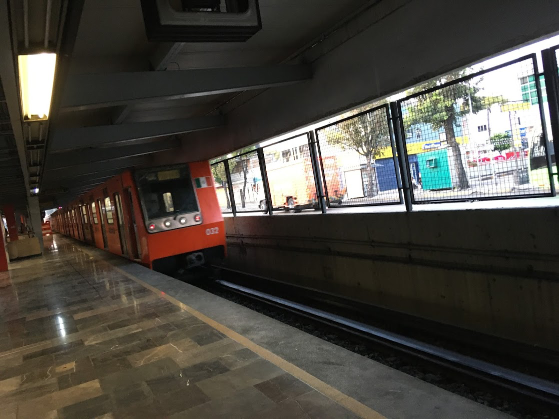 Subway in Mexico City