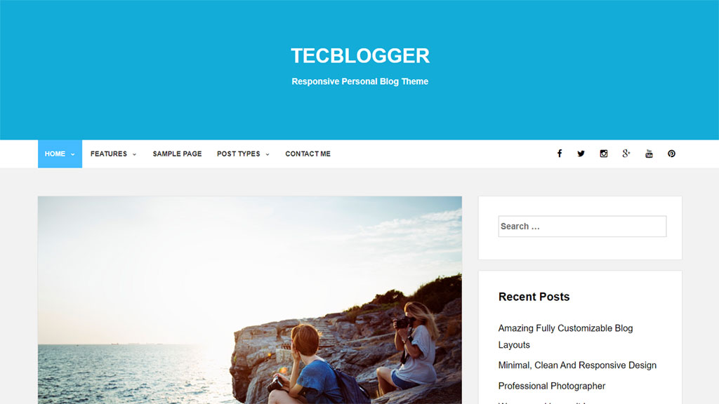 tecblogger tema wordpress