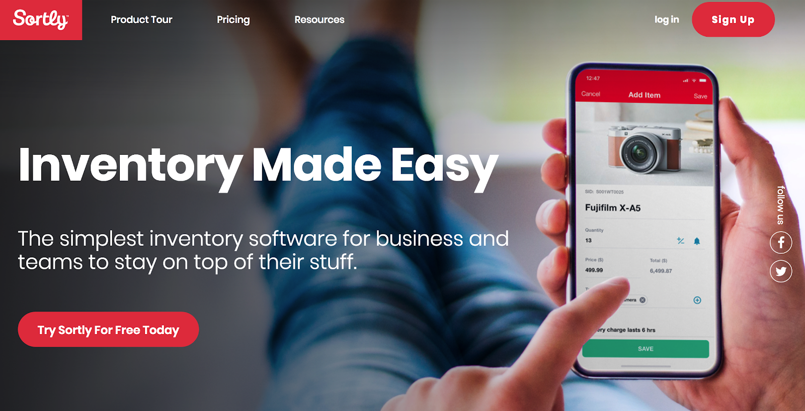 Sortly | Inventory Made Easy
