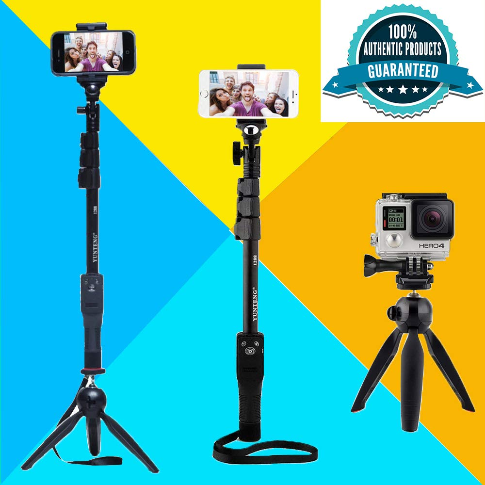 DEALPICK  Mini Combo Tripod Selfie Stick