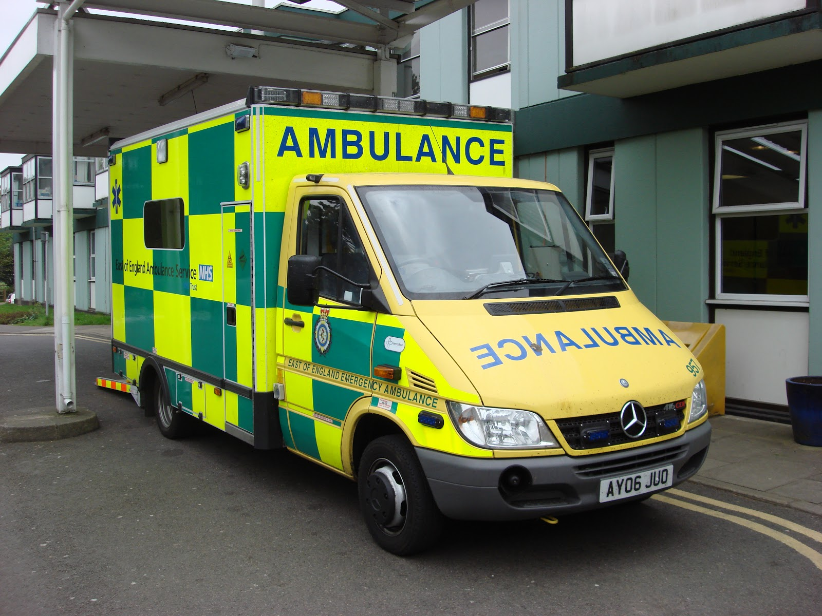 caring for elderly parents at home - ambulance