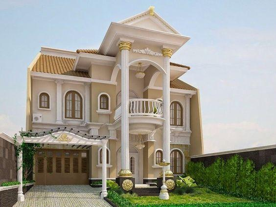 7 Inspirasi Desain Rumah Gaya Eropa Klasik Hingga Modern