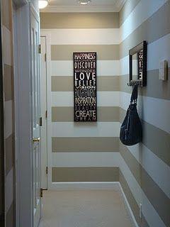 #Pasillo en rayas horizontales #pasillos #Hallways