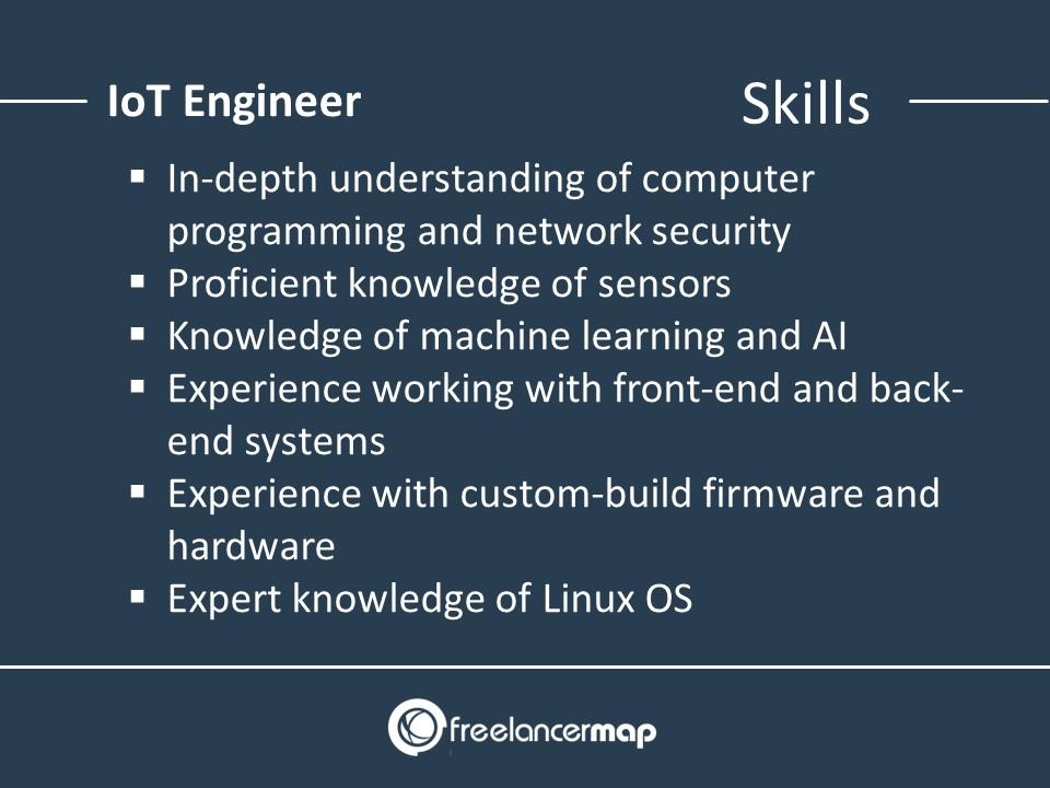 Skills of an IoT Engineer