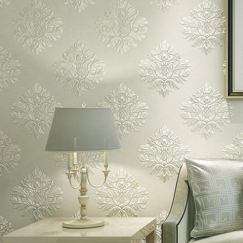 Dinding dengan Kain Motif Timbul atau Embossed Fabric - Sumber: www.dhgate.com