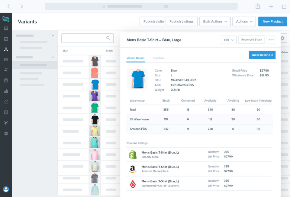 Stitch Labs: Inventory & Operation Management