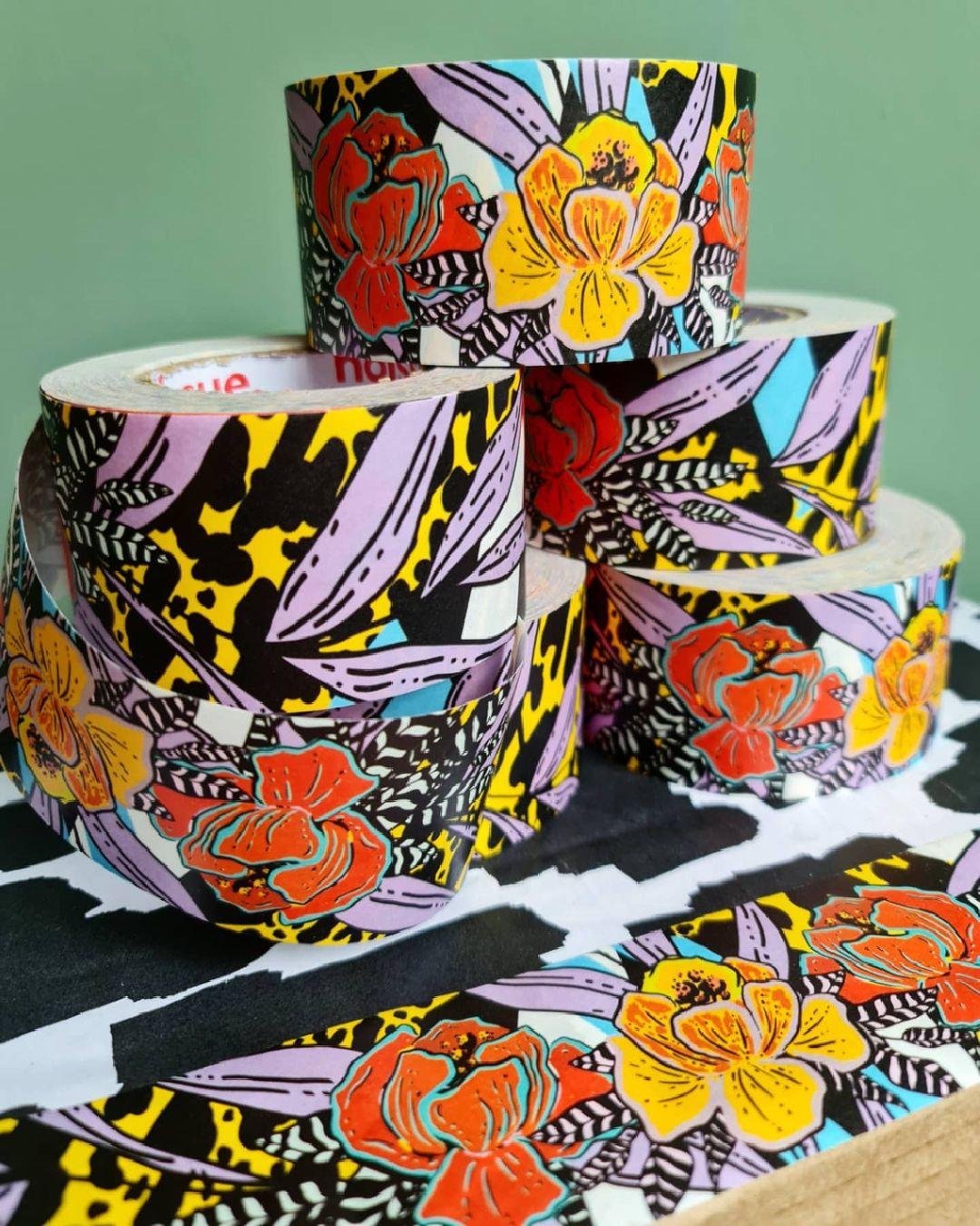 Rolls of custom tape