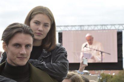 Đức Thánh Cha Phanxico động viên giới trẻ Lithuanian