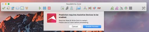 Read&Write enable access window