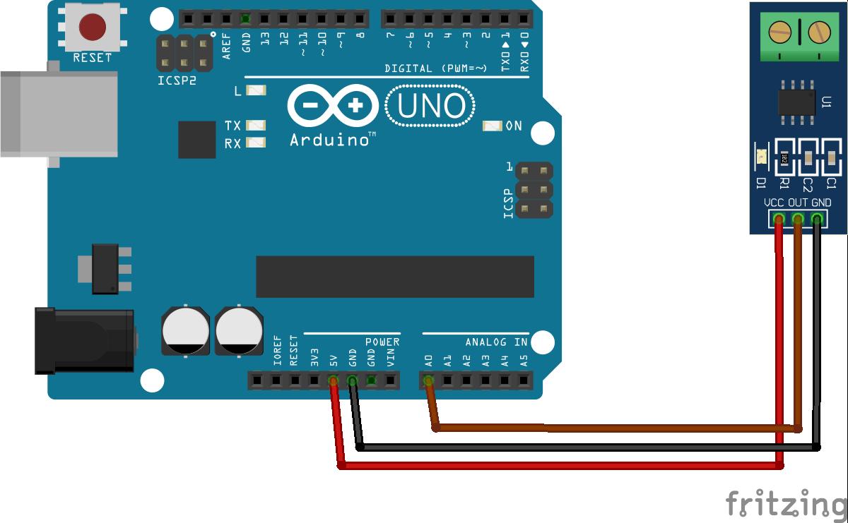 arduino current sensor wiring diagram