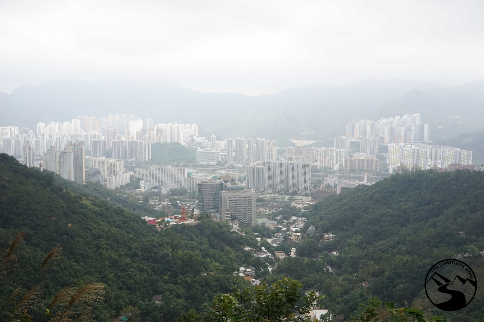 A view of Sha Tin from up high