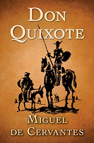 Image of the front cover of the novel Don Quioxte.
