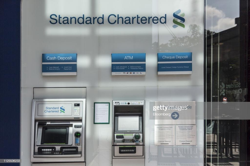 rút tiền mặt thẻ tín dụng standard chartered