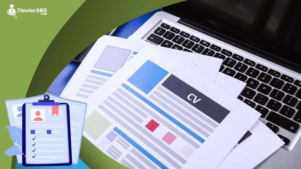 CV xin việc tại timviec365.com