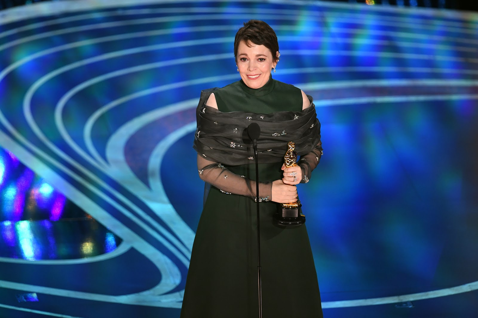 Image result for Olivia Colman 2019 oscars