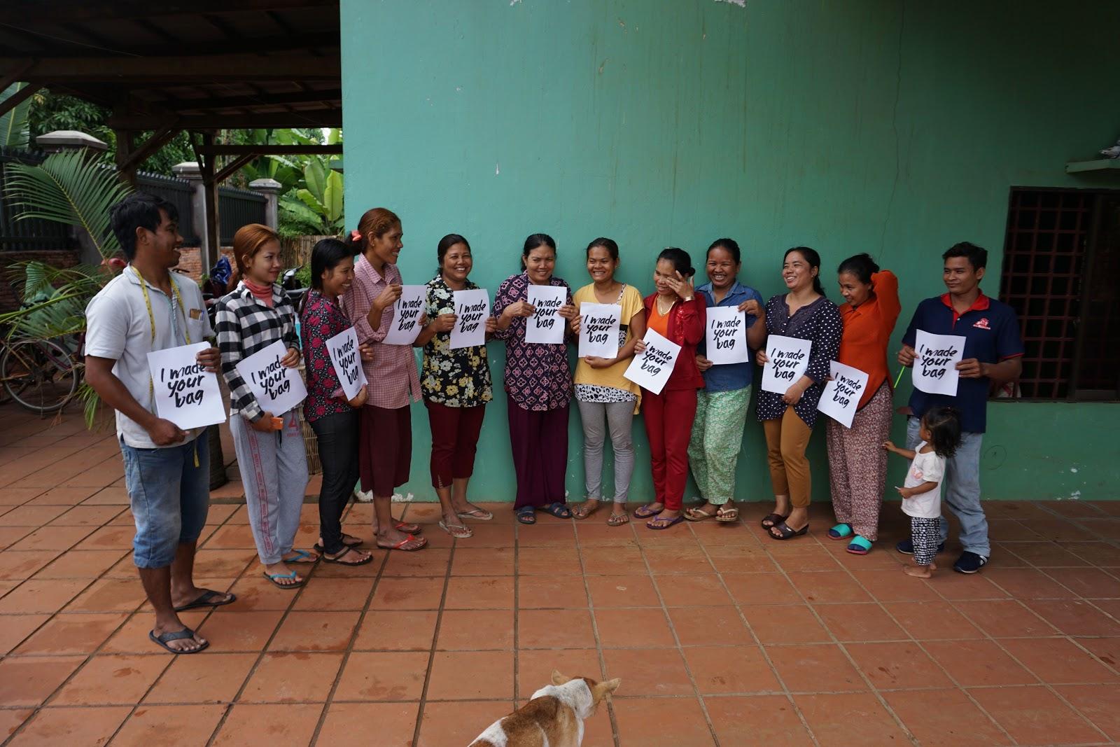 Fair Trade Revolution. I Made Your Bag, artisans in Cambodia   Fair Anita