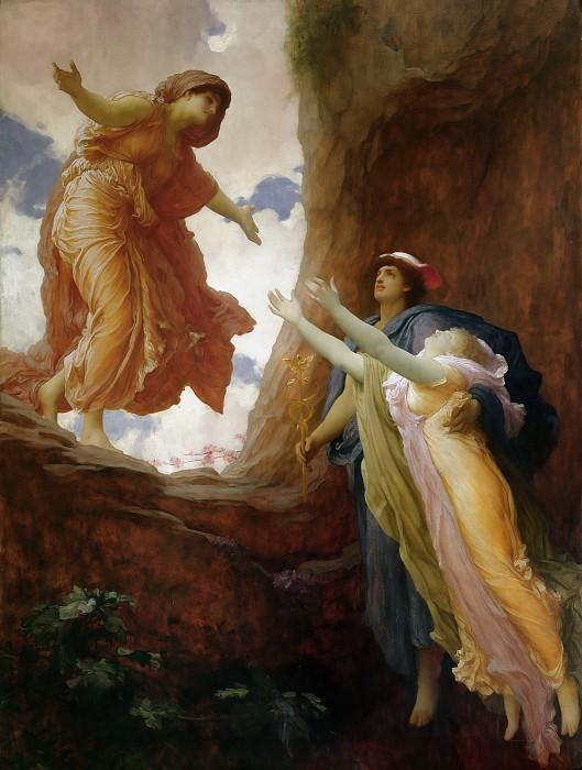 Возвращение Персефоны, Фредерик Лейтон, 1891