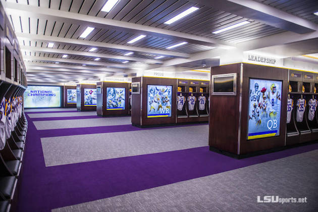 Top 10 College Locker Rooms Locker Room Talk Top College Coaches