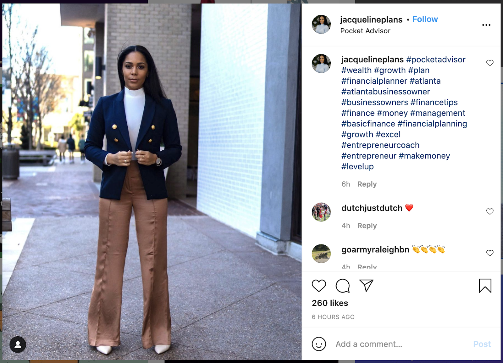 examples of using multiple hashtags on a post on instagram