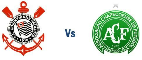 Corinthians vs Chapecoense