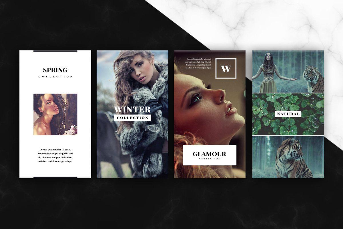 Onyx Instagram Stories Template Pack