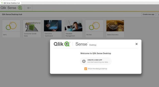 Qlik Sense Desktop Free Trial