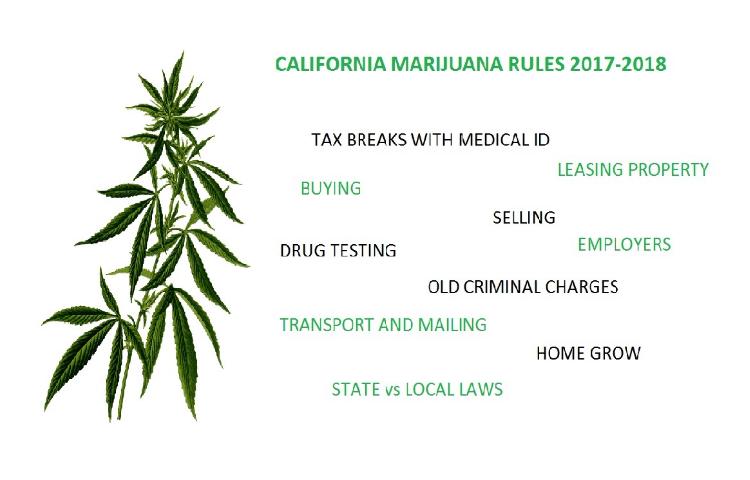 marijuana laws - 2018
