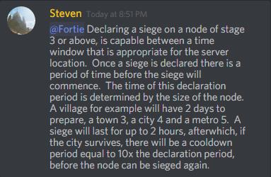 Node deleveling by siegepng