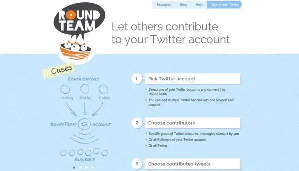 Roundteam.co - auto retweet tools - TweetJumbo.com- twitter automation bot tool