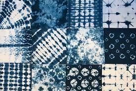 Shibori - Indigo Tie Dye via Ancient Japan