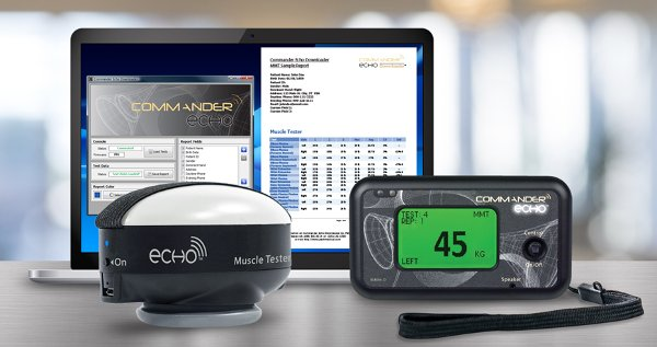 Simple to use computerized manual muscle testing system - JTECH Commander Echo Manual Muscle Tester