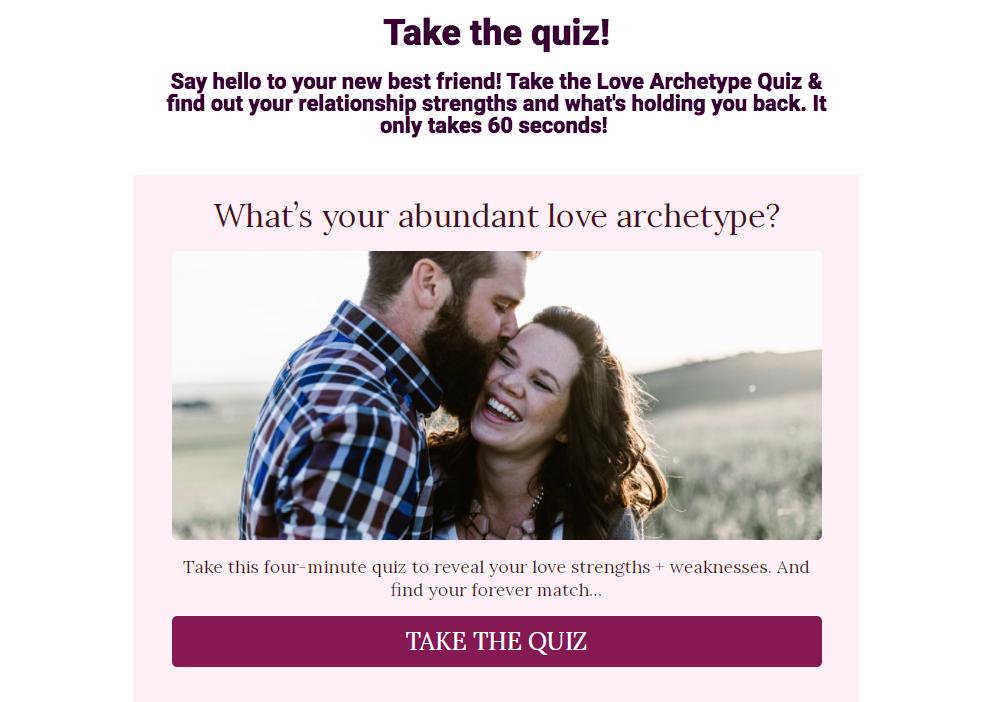 CTA for quiz
