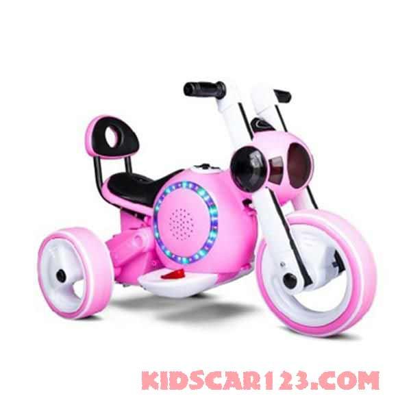 xe máy điện trẻ em KB-903 màu hồng