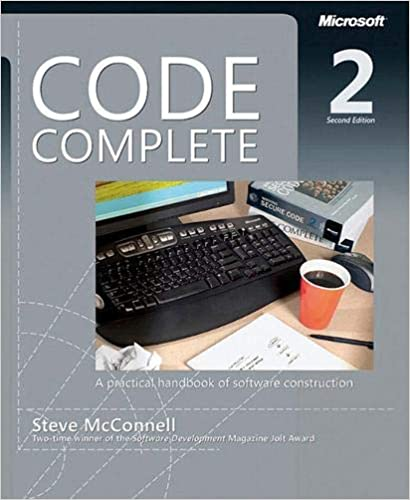 best book related Software IT everyone should read Code complete