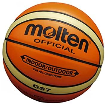 Amazon | molten(モルテン) エナメル合皮バスケットボール7号球 BGS7OC | モルテン(molten) | ボール