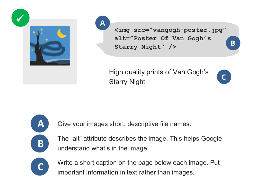 Best practices on image SEO