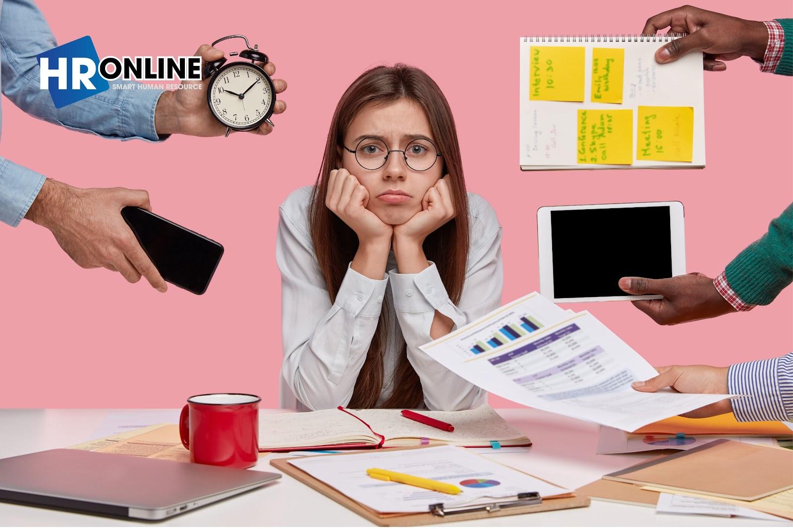 Trễ deadline dẫn đến chất lượng, hiệu quả công việc giảm sút