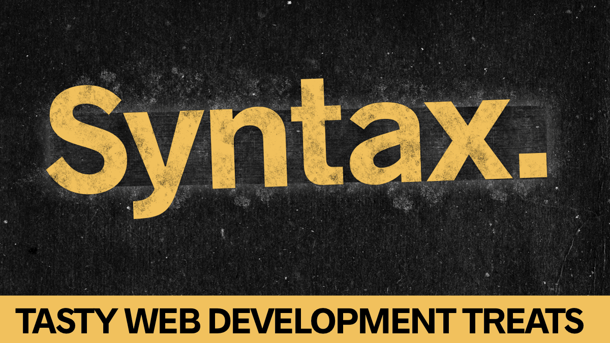 syntax tech podcast