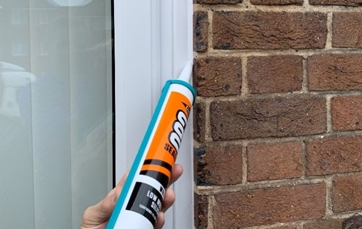 Weatherproofing your home with sealant to prevent mold, mildew, and pest infestations.