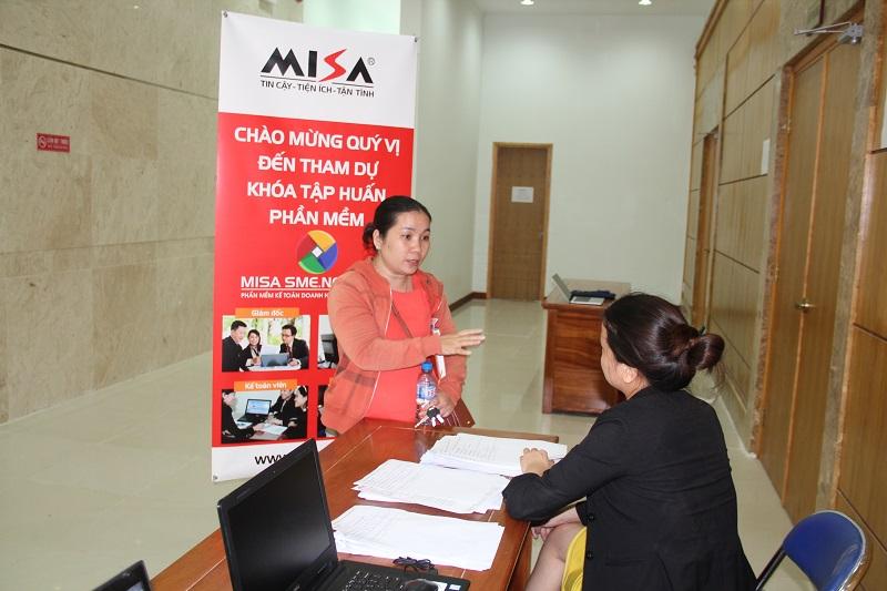 MISA hỗ trợ giải đáp các thắc mắc của Doanh nghiệp
