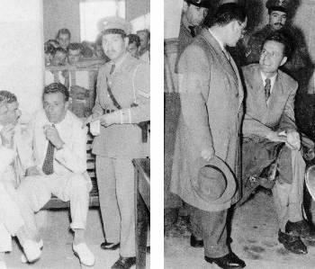 Περιγραφή: Σε δίκες στο Κακουργιοδικείο της Λάρισας και του Πύργου