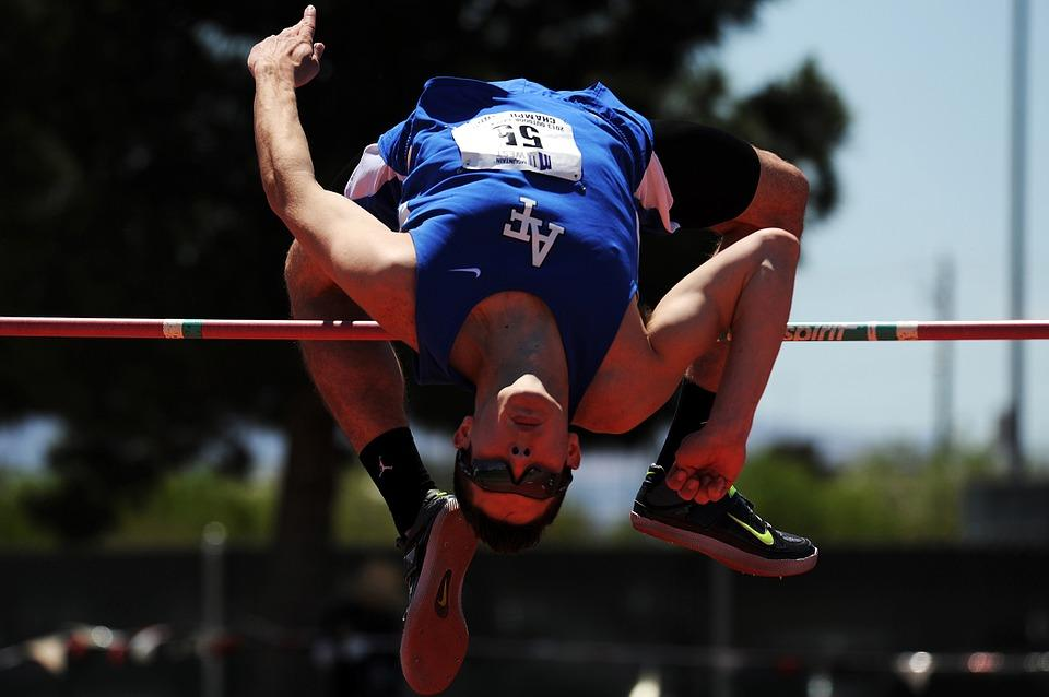 High Jump, Track, Field, Competition, College, Athlete