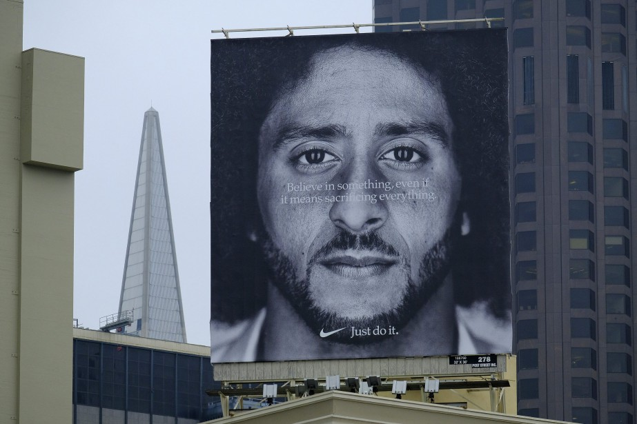 Campagne Kaepernic de Nike