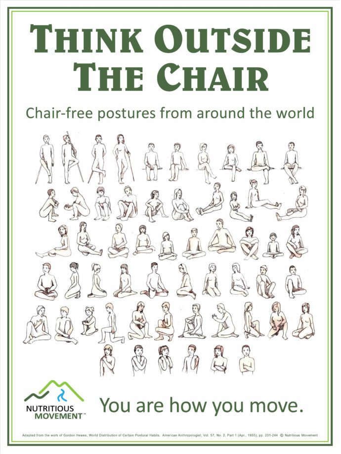 Chair-free postures around the world