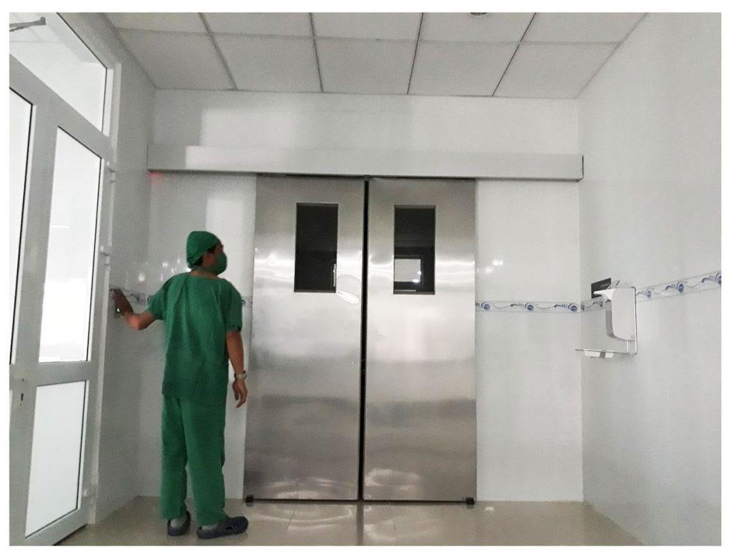 Nguyên lý hoạt động cửa tự động bệnh viện