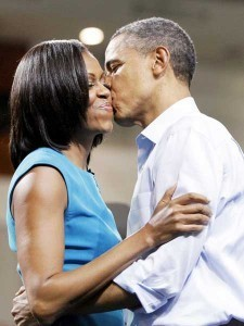 Barrack & Michelle Obama: