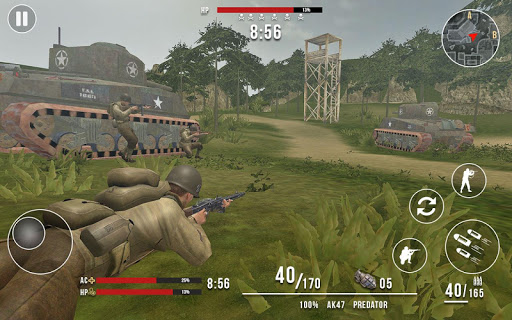 American vs Japanese Sniper - Hunter Survival FPS- screenshot thumbnail
