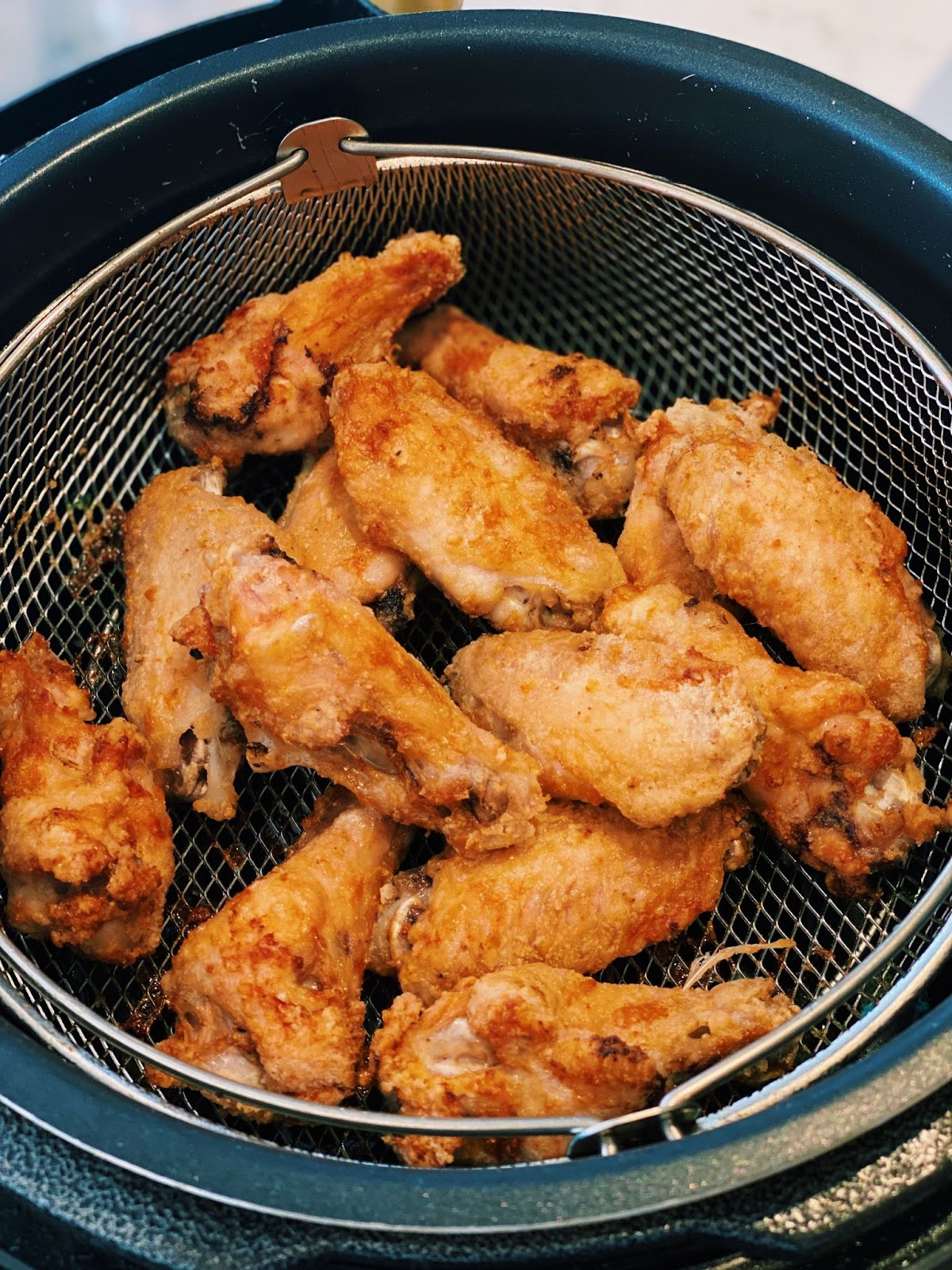 Airfry Wings that are CRISPY