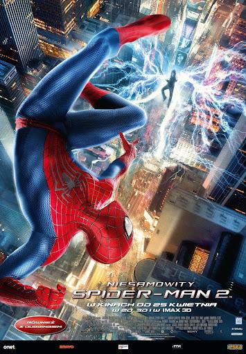Polski plakat filmu 'Niesamowity Spider-Man 2'